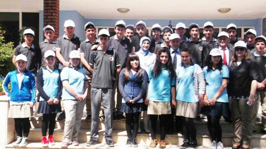 ESPİYE'li Öğrencilerden Hekim Süt Gezisi